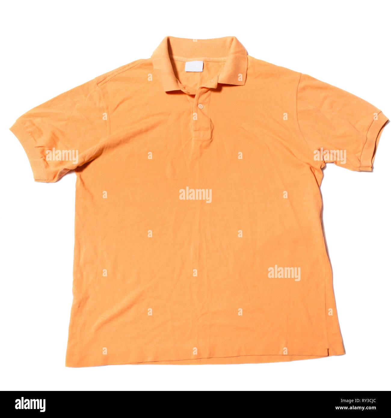 Camiseta manga corta polo Imagen De Stock