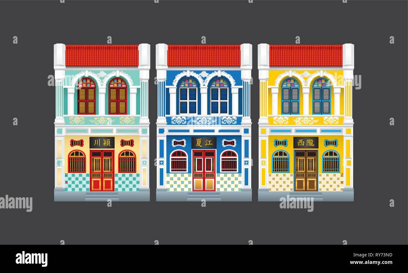 Colorido Histórico Y Colonial De Dos Pisos Estilo Terraza
