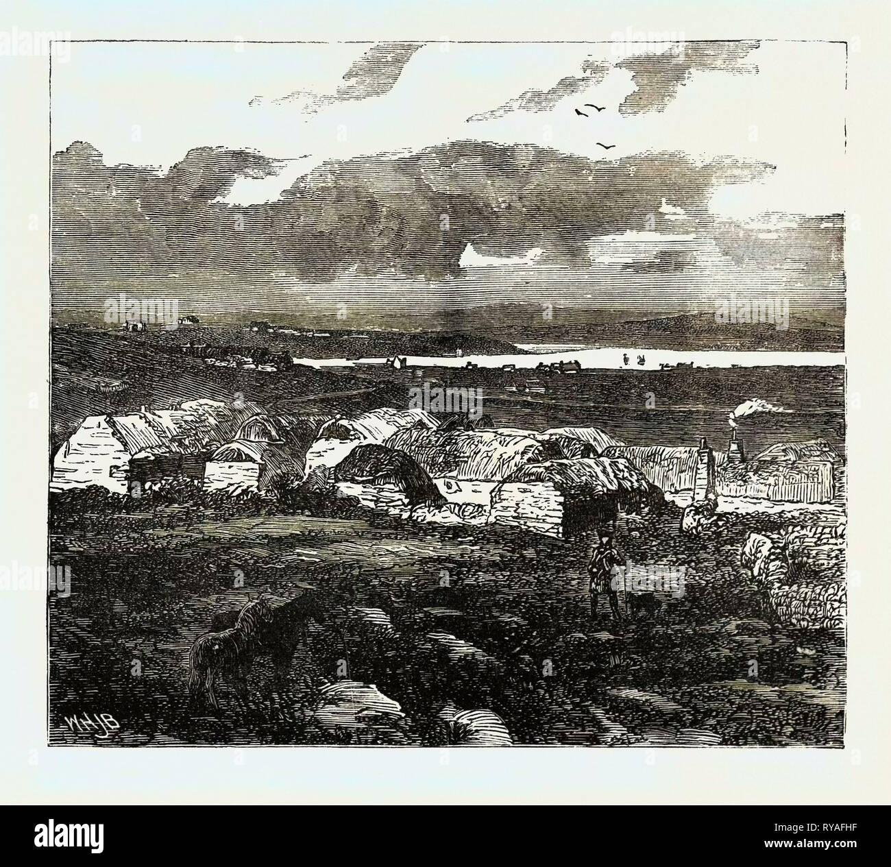 El Duque de Edimburgo en las Islas Shetland Lerwick, sonido superior: Imagen De Stock