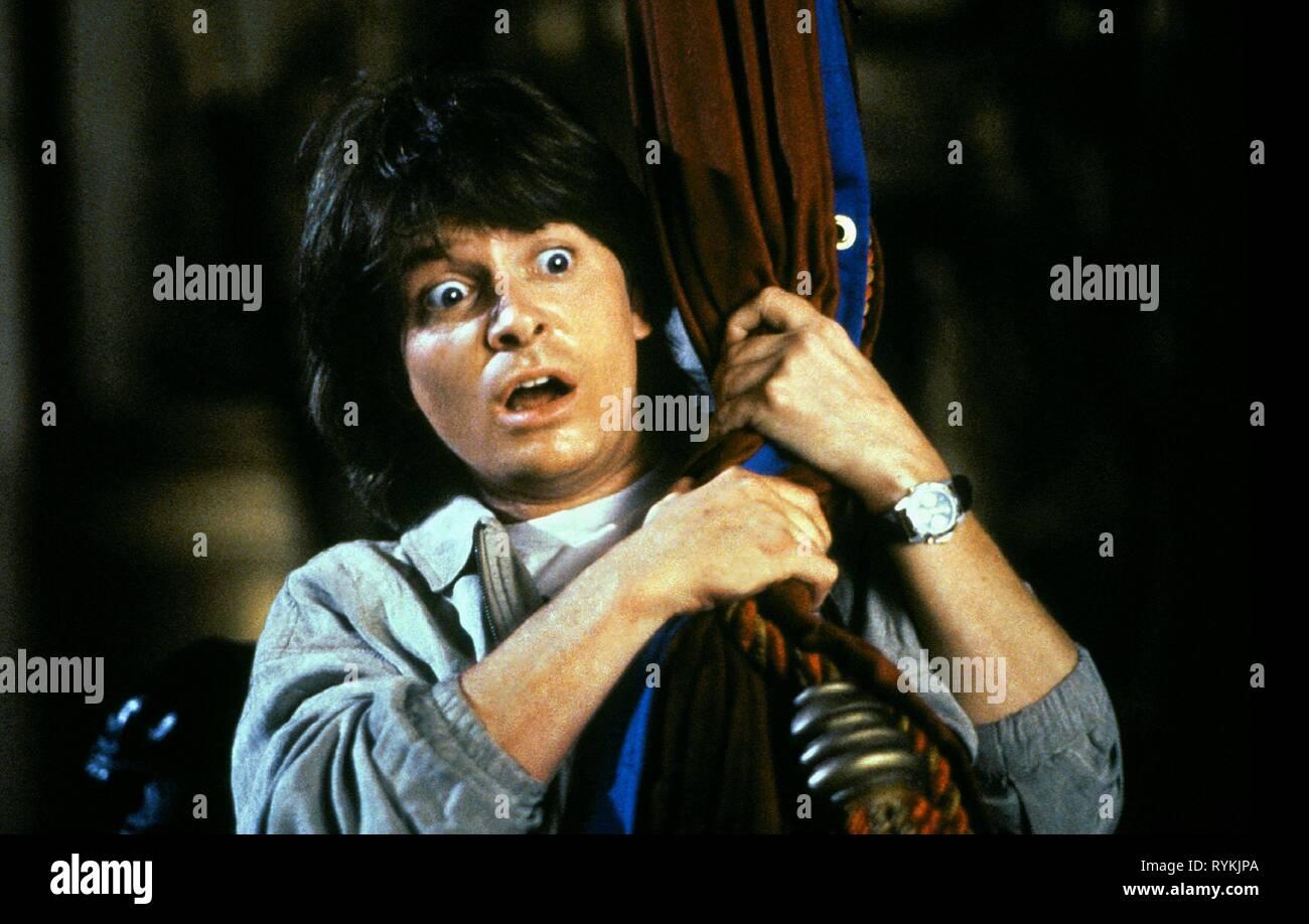 MICHAEL J. Fox, el camino difícil, 1991 Foto de stock