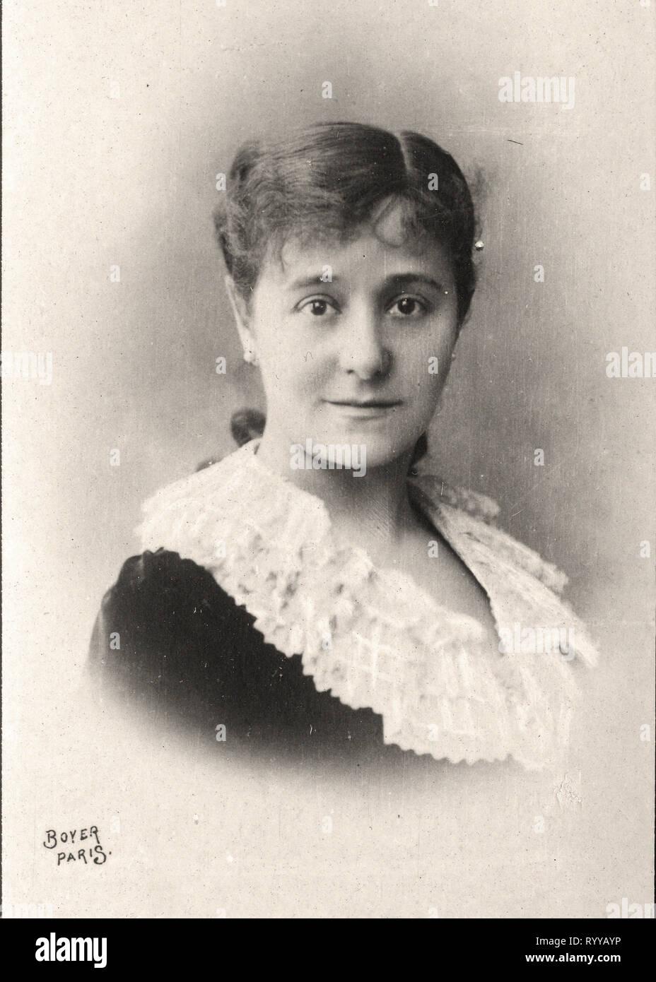 Retrato fotográfico de Broisat Colección de Félix Potin, de principios del siglo XX. Foto de stock