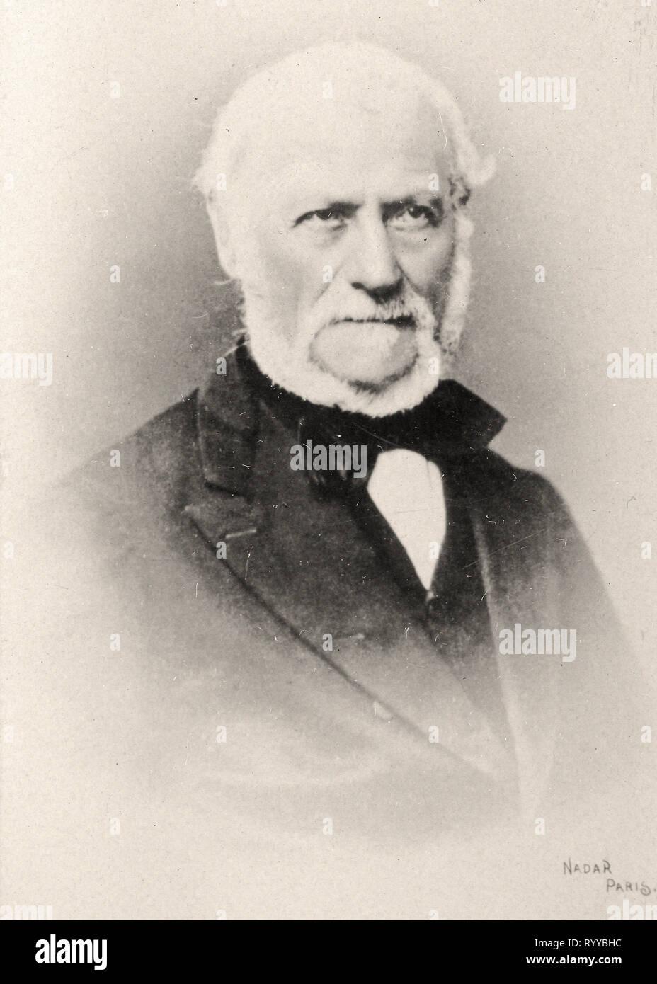 Retrato fotográfico de Martin desde la colección Félix Potin, de principios del siglo XX. Foto de stock