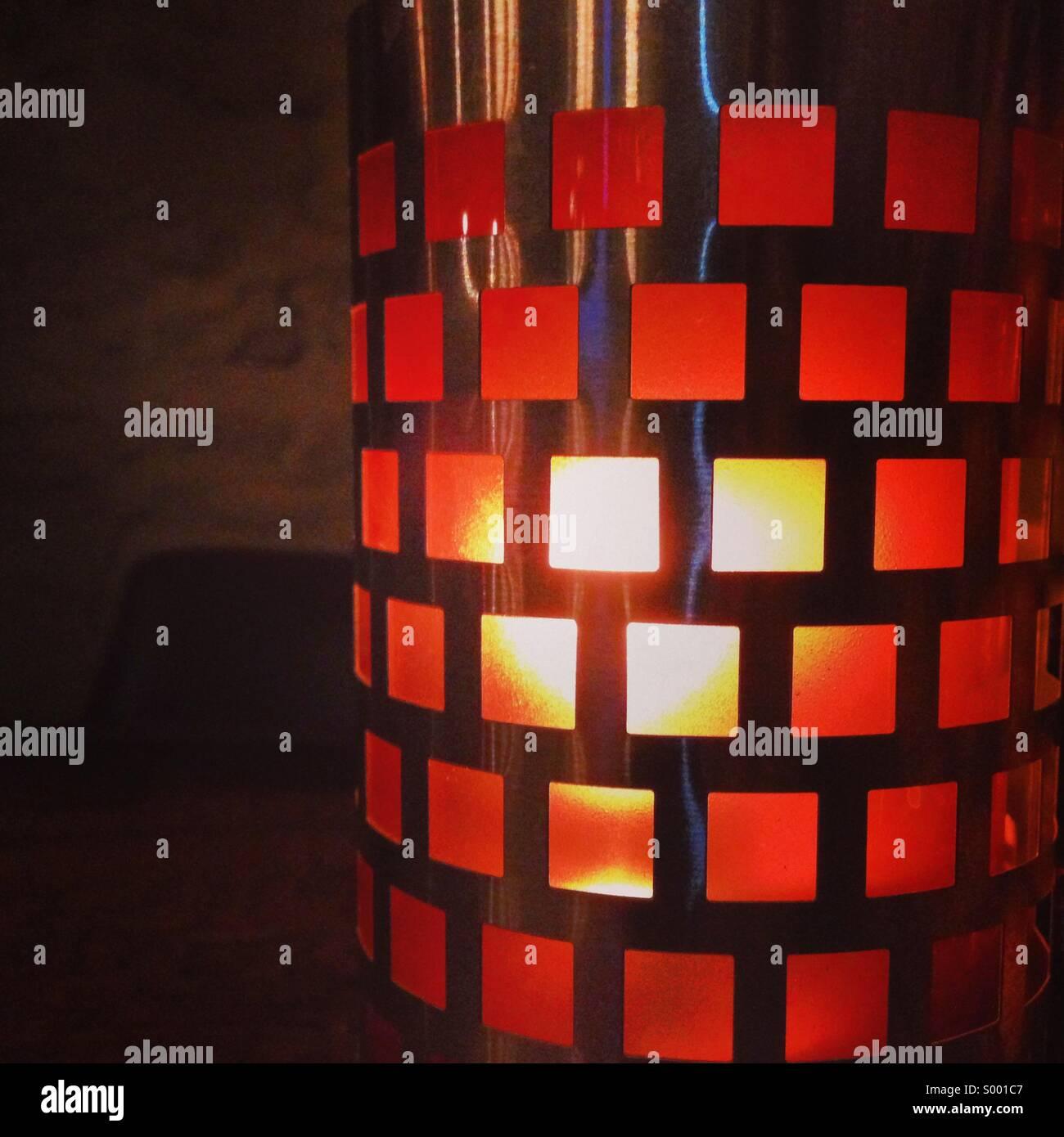 A la luz de las velas / luz Imagen De Stock