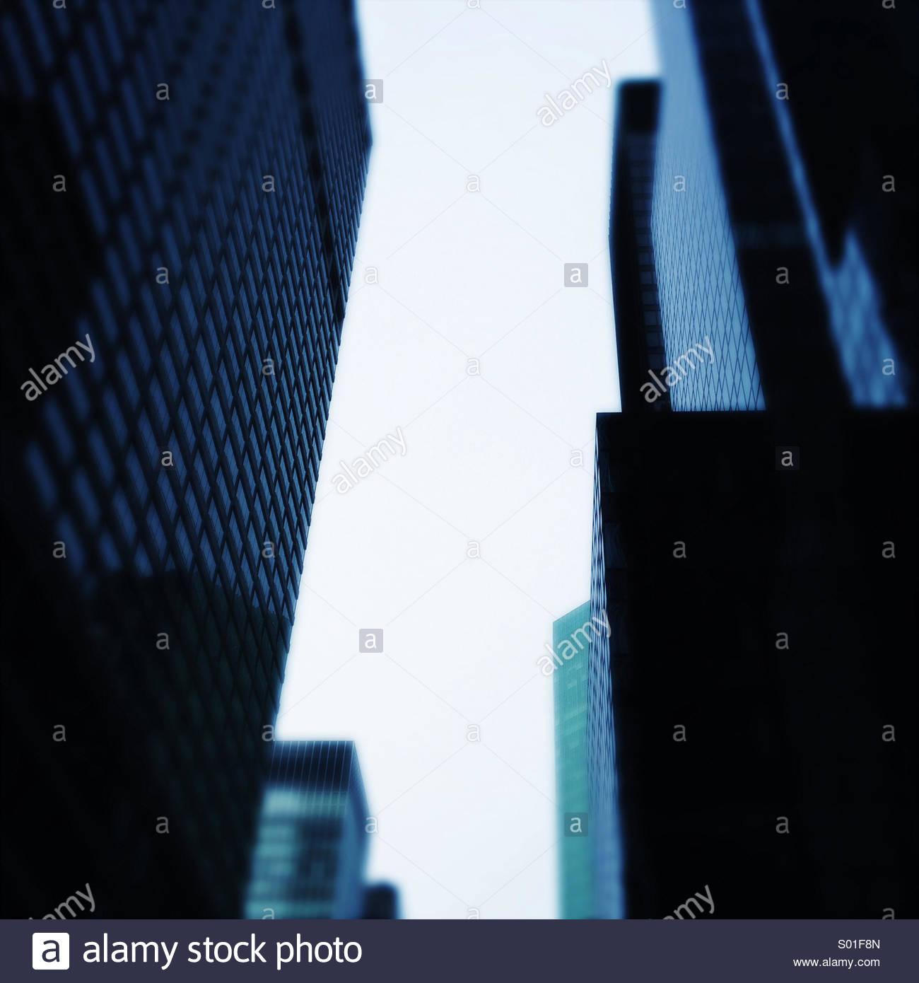 Ciudad de Midtown Manhattan. La Ciudad de Nueva York. Ee.Uu. Imagen De Stock