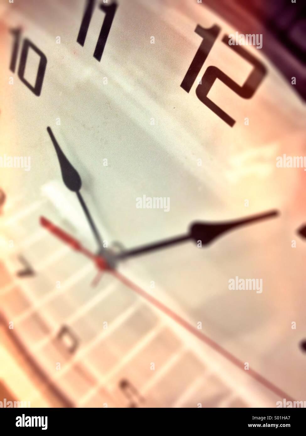 Cara de reloj Imagen De Stock