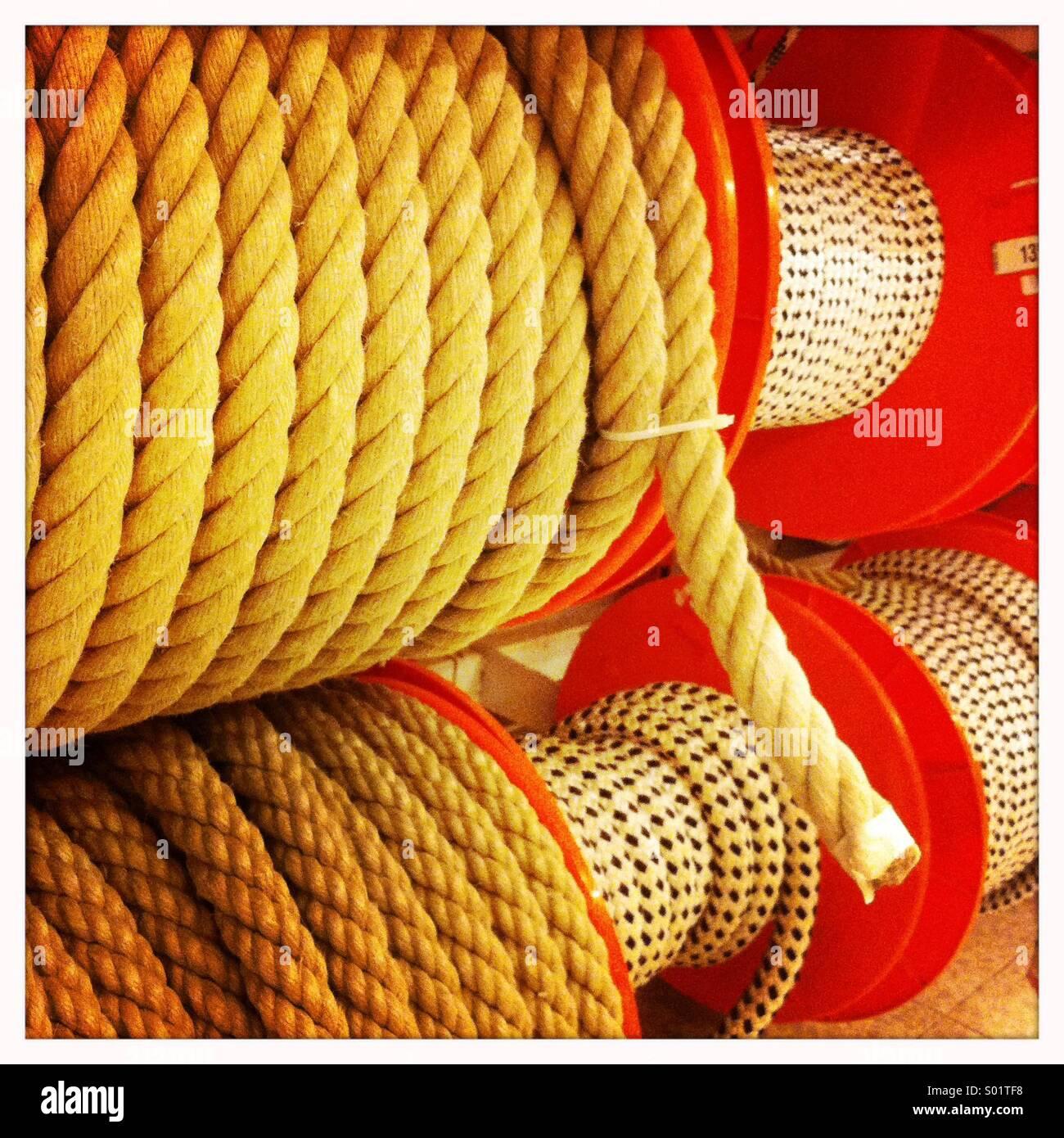 Cuerda Imagen De Stock