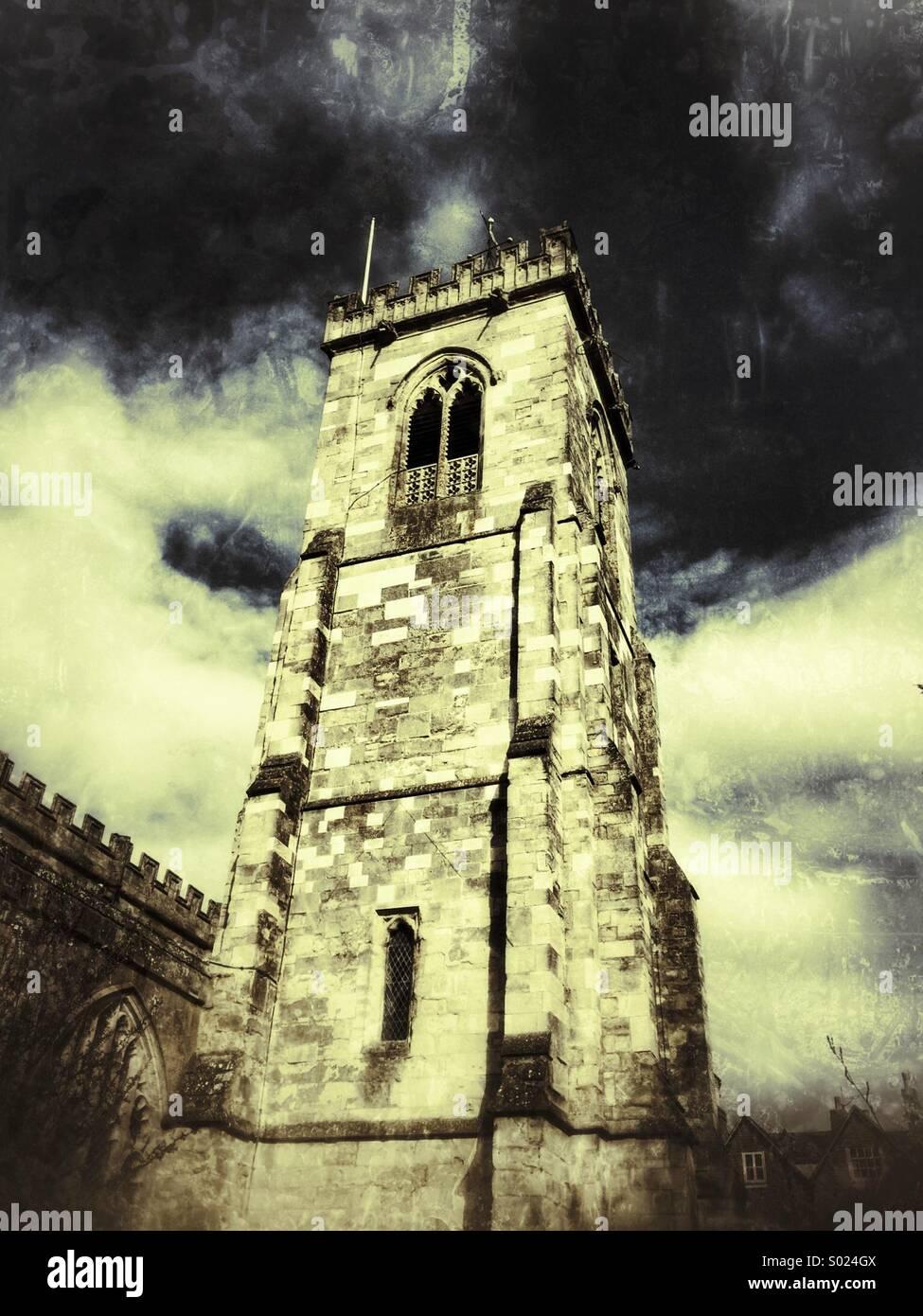 Torre de la iglesia Imagen De Stock
