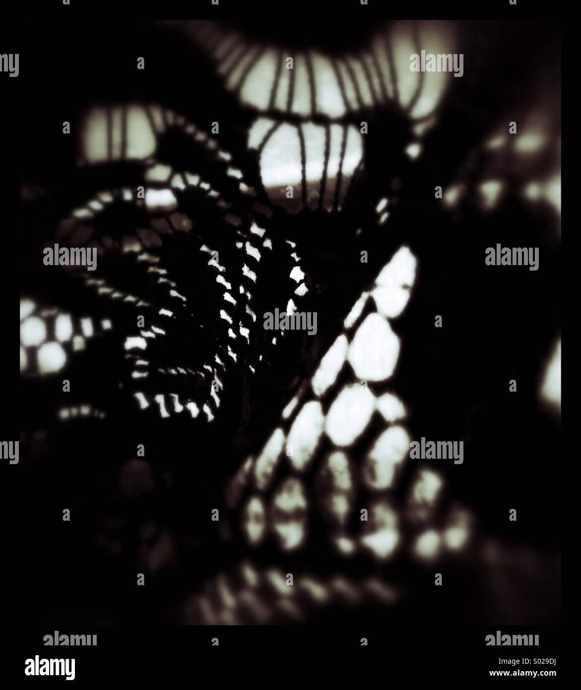Abstracto negro Imagen De Stock