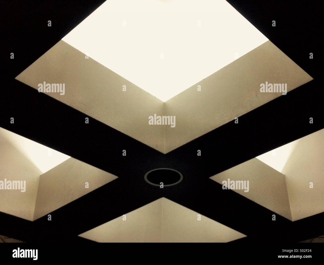 La arquitectura abstracta. Imagen De Stock