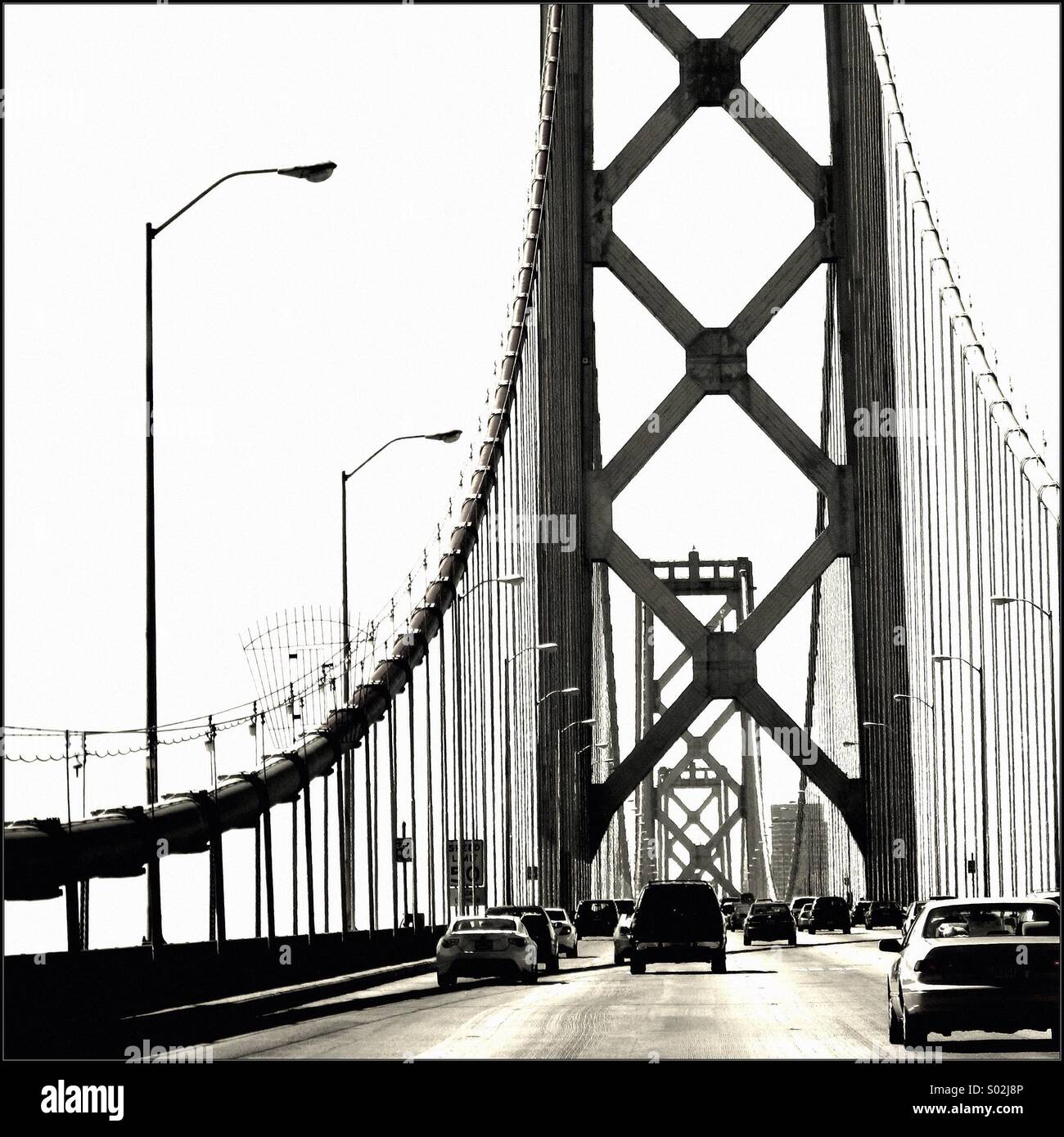 Puente Foto de stock