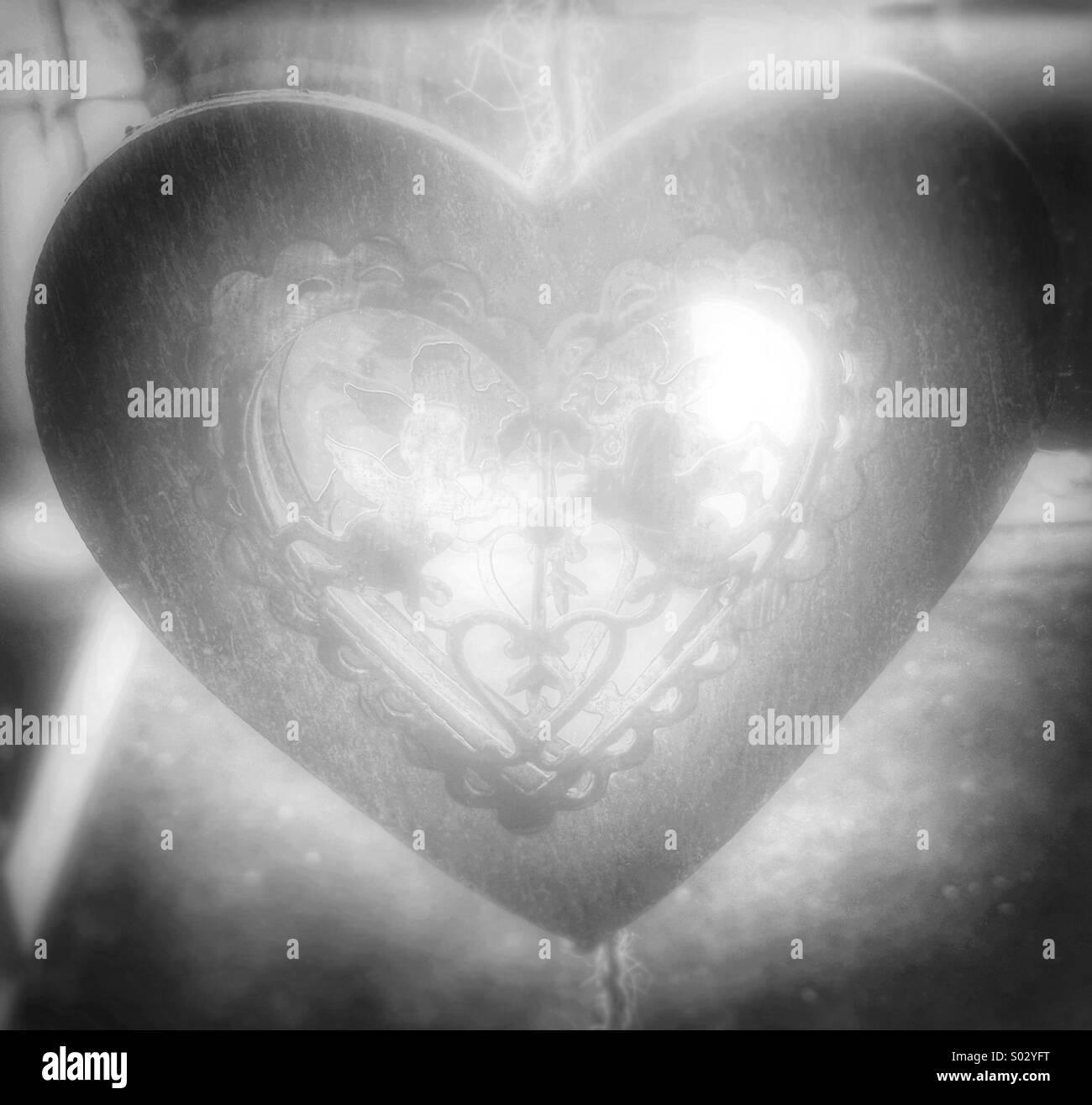 Corazón perdido Imagen De Stock