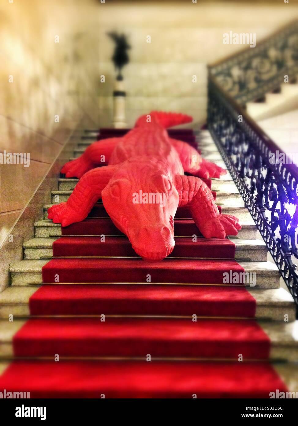 Red Crocodile Imágenes De Stock & Red Crocodile Fotos De Stock - Alamy