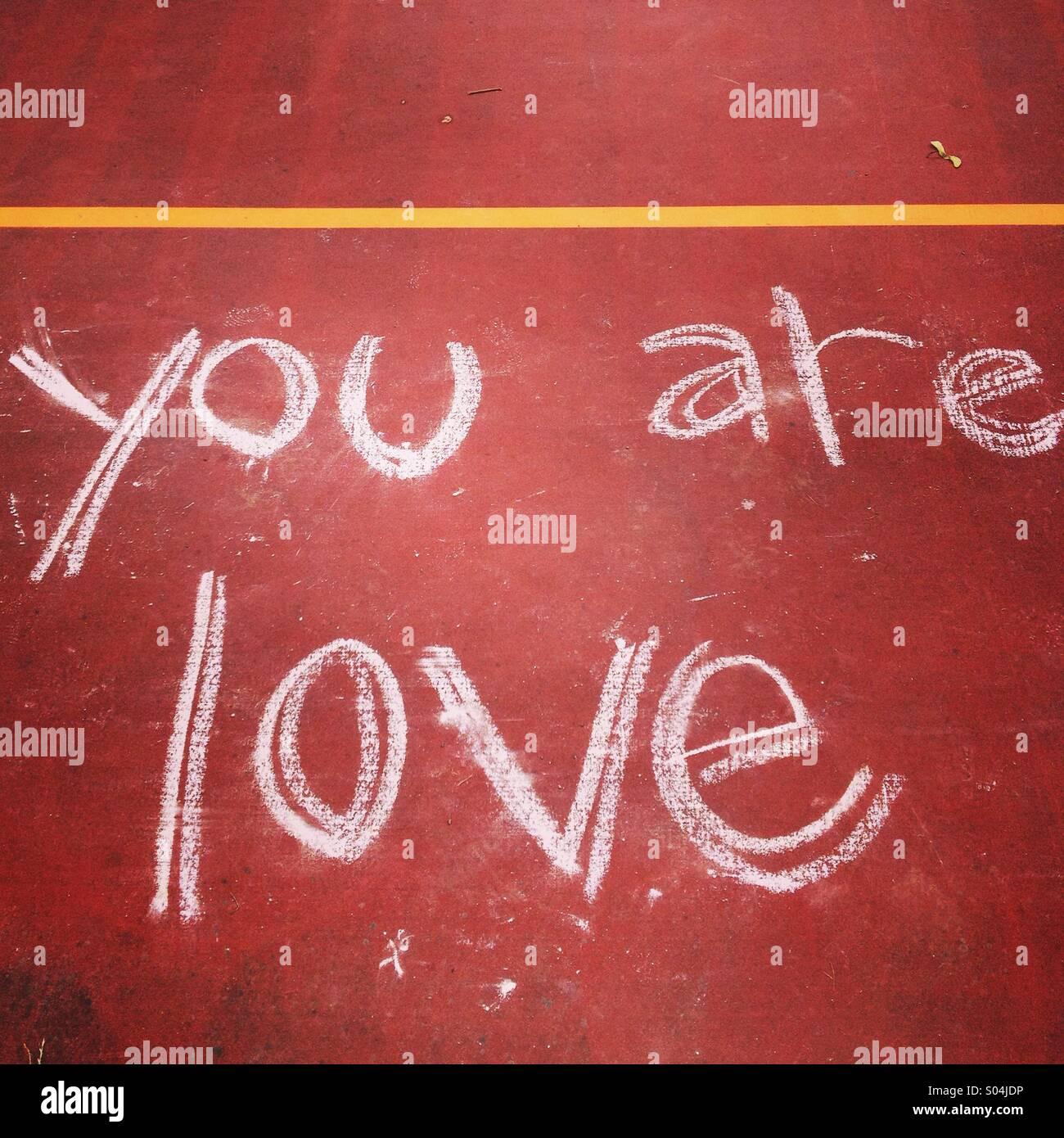 Eres amor Imagen De Stock