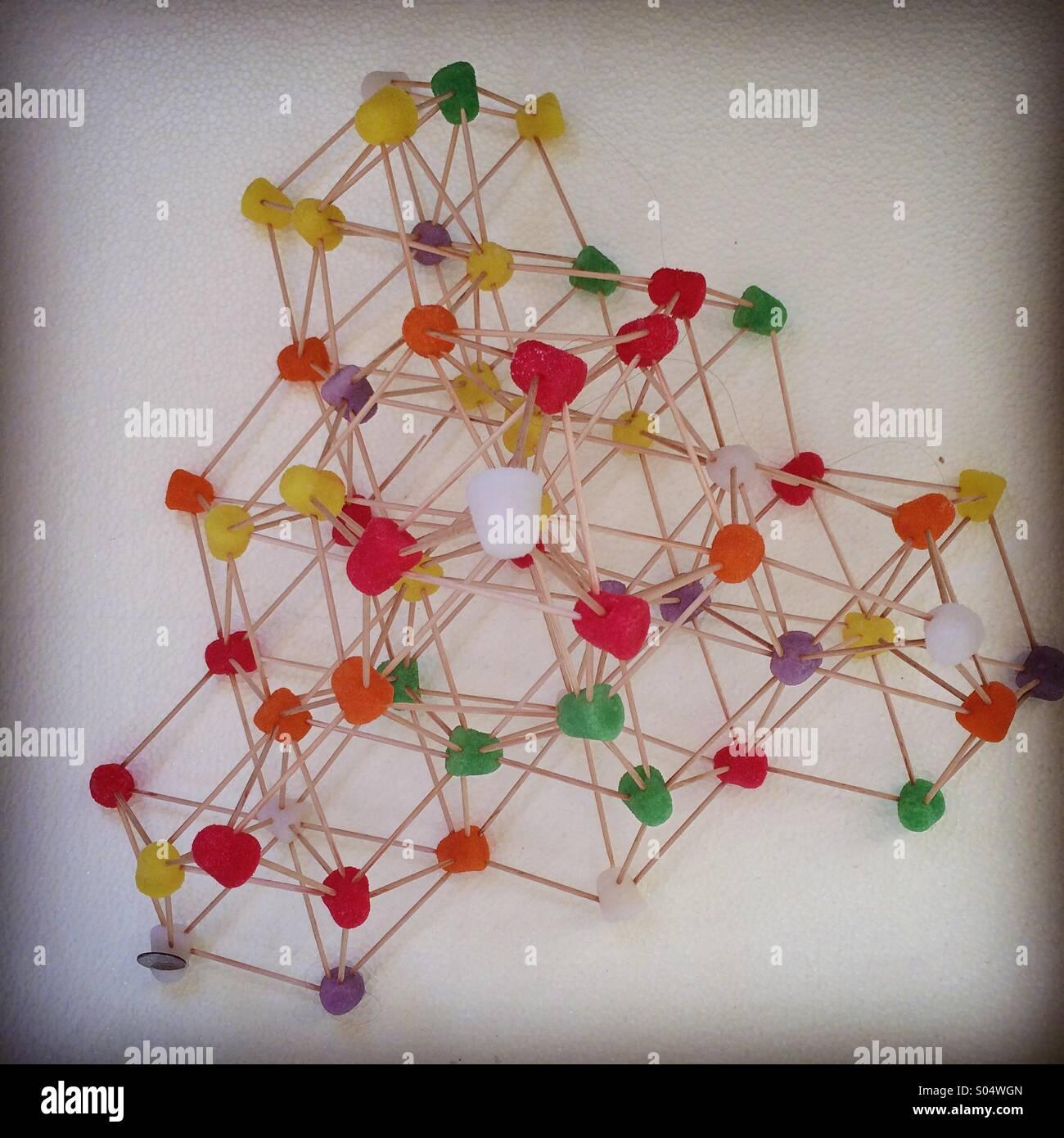 Escultura Pastilla de goma Imagen De Stock