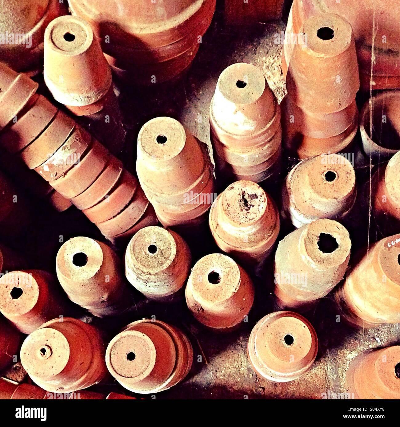 Maceteros Imagen De Stock