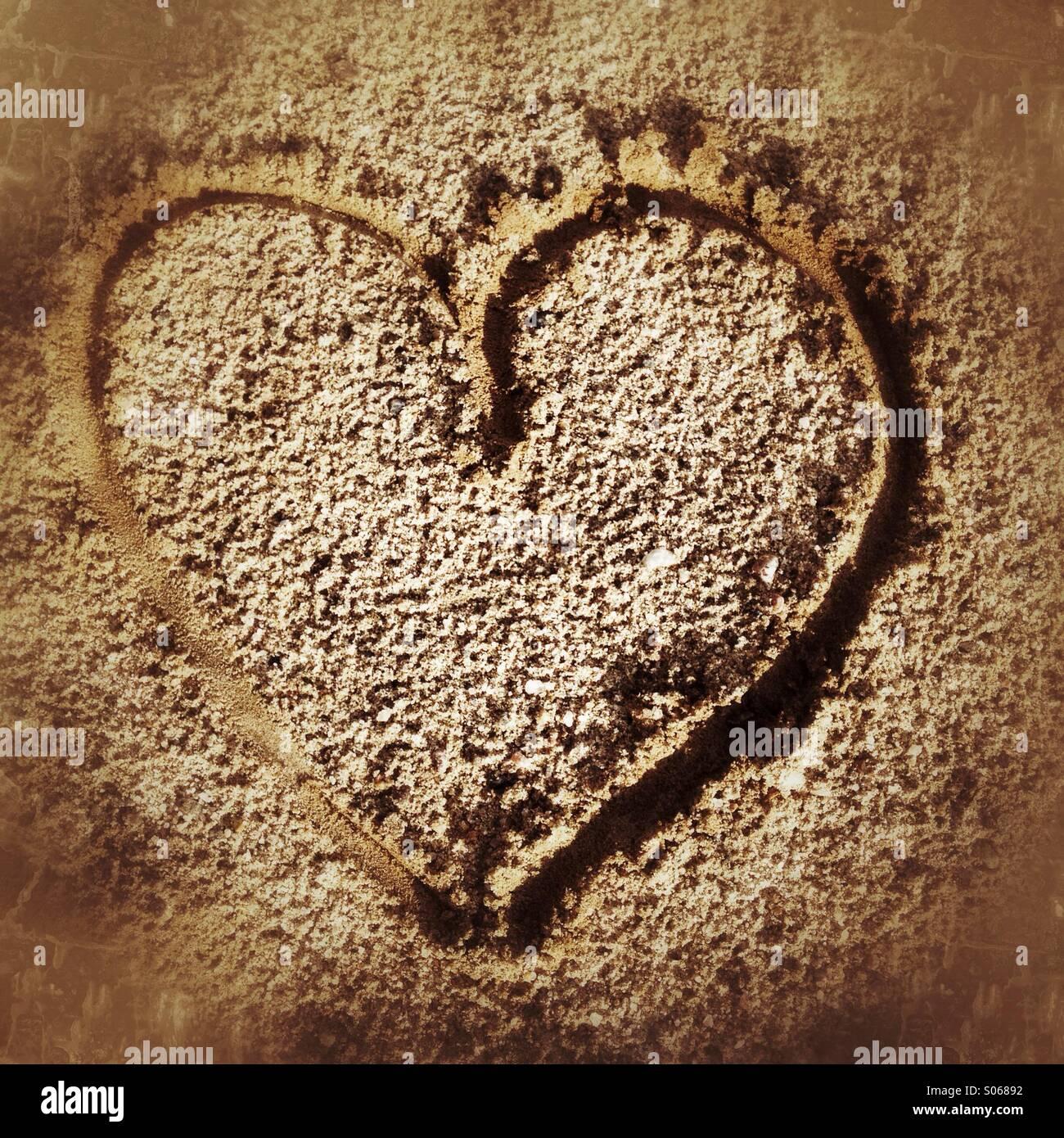 Corazón Imagen De Stock