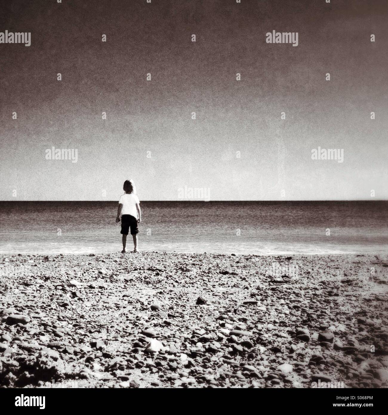 Esperando la marea para girar Imagen De Stock