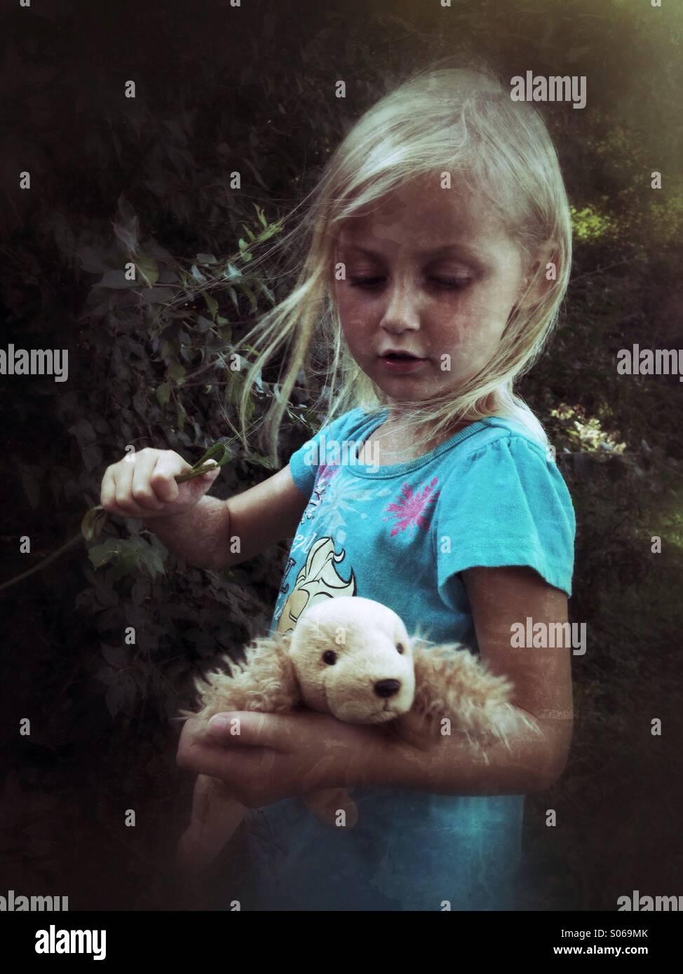 Puppy Playtime. Imagen De Stock