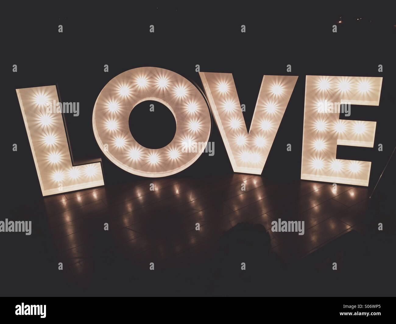 Cartas de amor Imagen De Stock