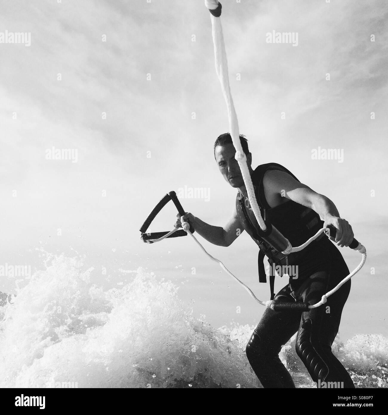 Surfing Imagen De Stock