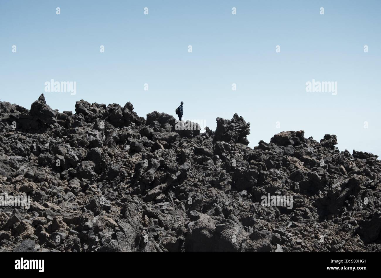 Explorador solitario Imagen De Stock