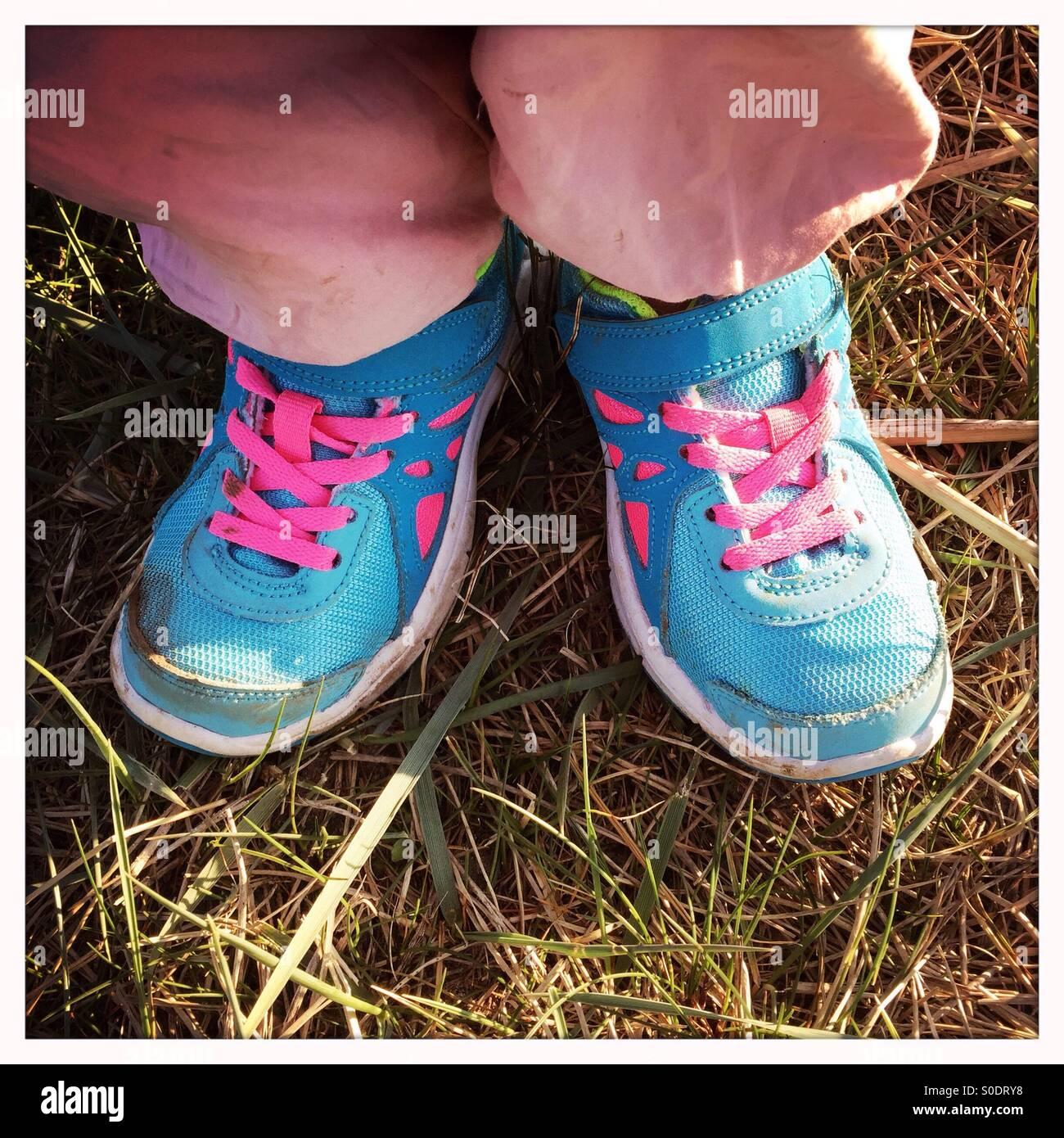 ¡Mis zapatos nuevos! Imagen De Stock