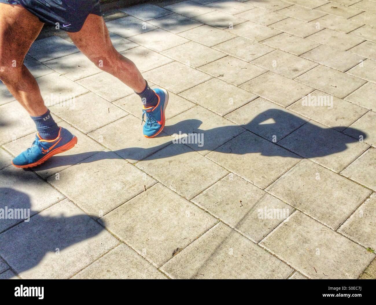 Shadow Of A Shoe Imágenes De Stock   Shadow Of A Shoe Fotos De Stock ... d07bc0ce2996