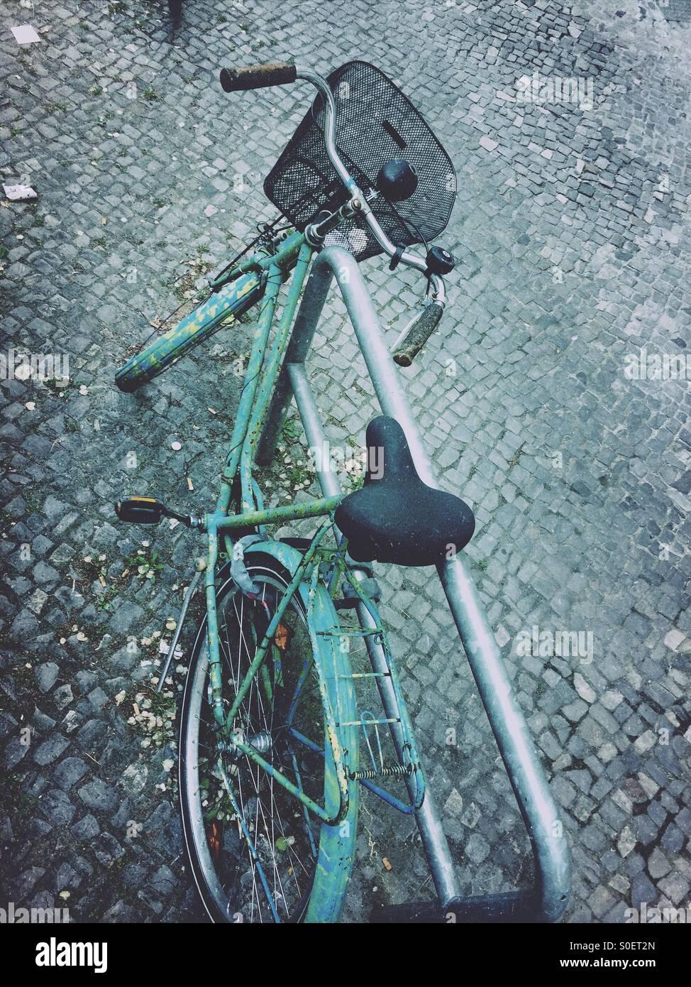 Bicicleta antigua Imagen De Stock