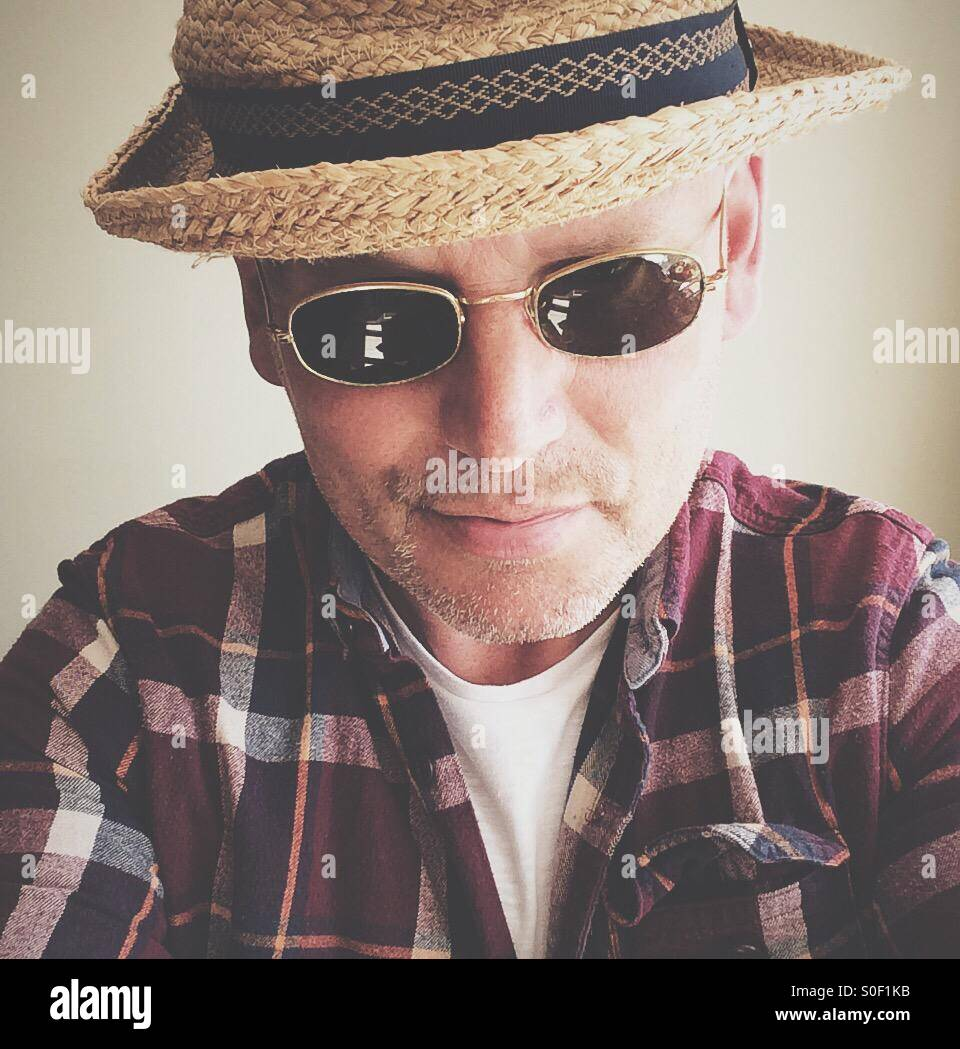 Self-Portrait, Jonathan Syer Imagen De Stock
