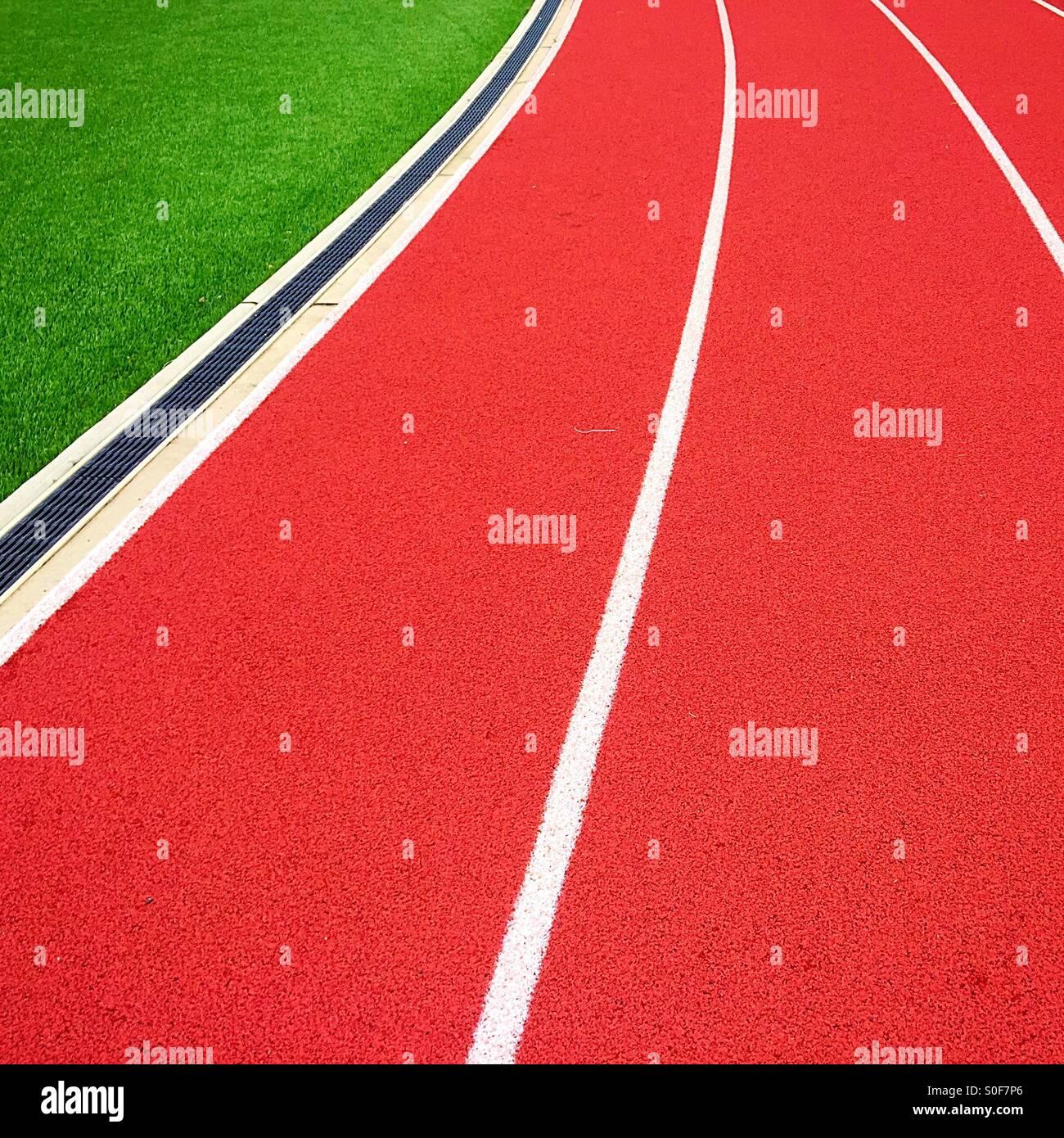 Gráfico campo Track Imagen De Stock