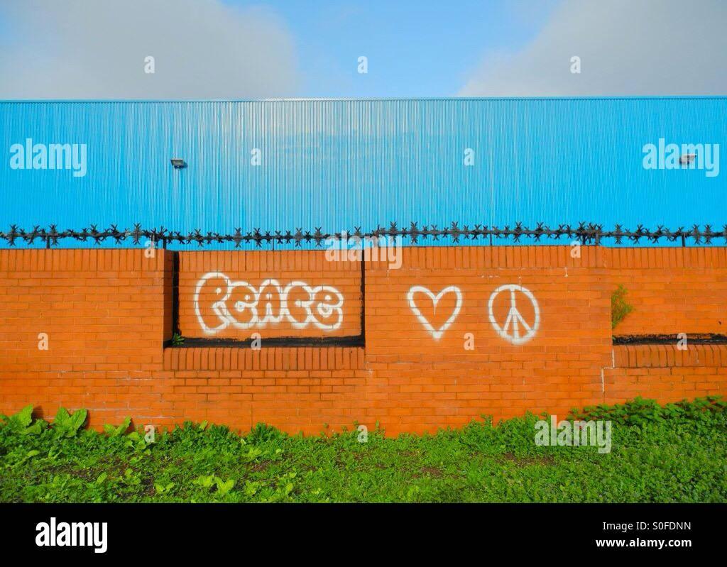 Muro de la paz Imagen De Stock