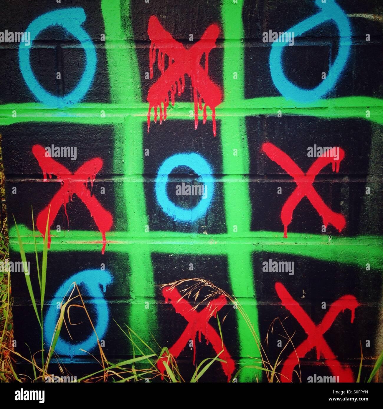 Ceros y cruces Imagen De Stock