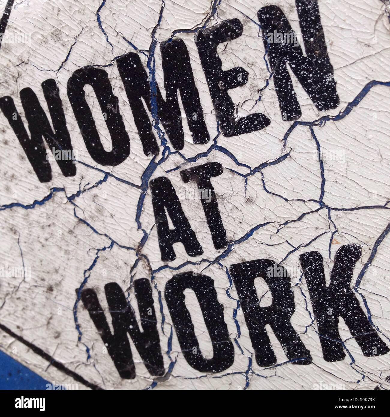 Mujeres en el trabajo Imagen De Stock