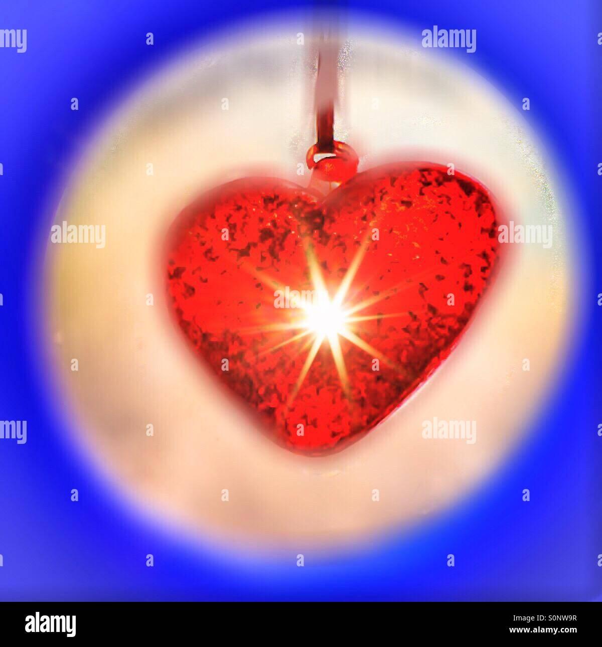 Luz de mi corazón Foto de stock