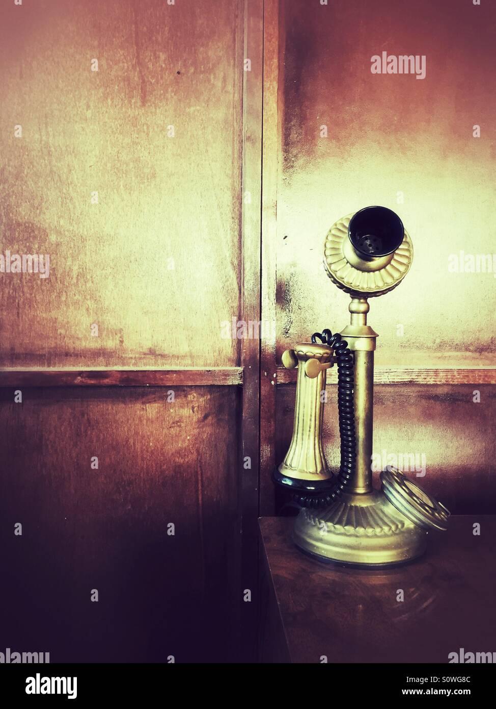 Teléfono antiguo Imagen De Stock