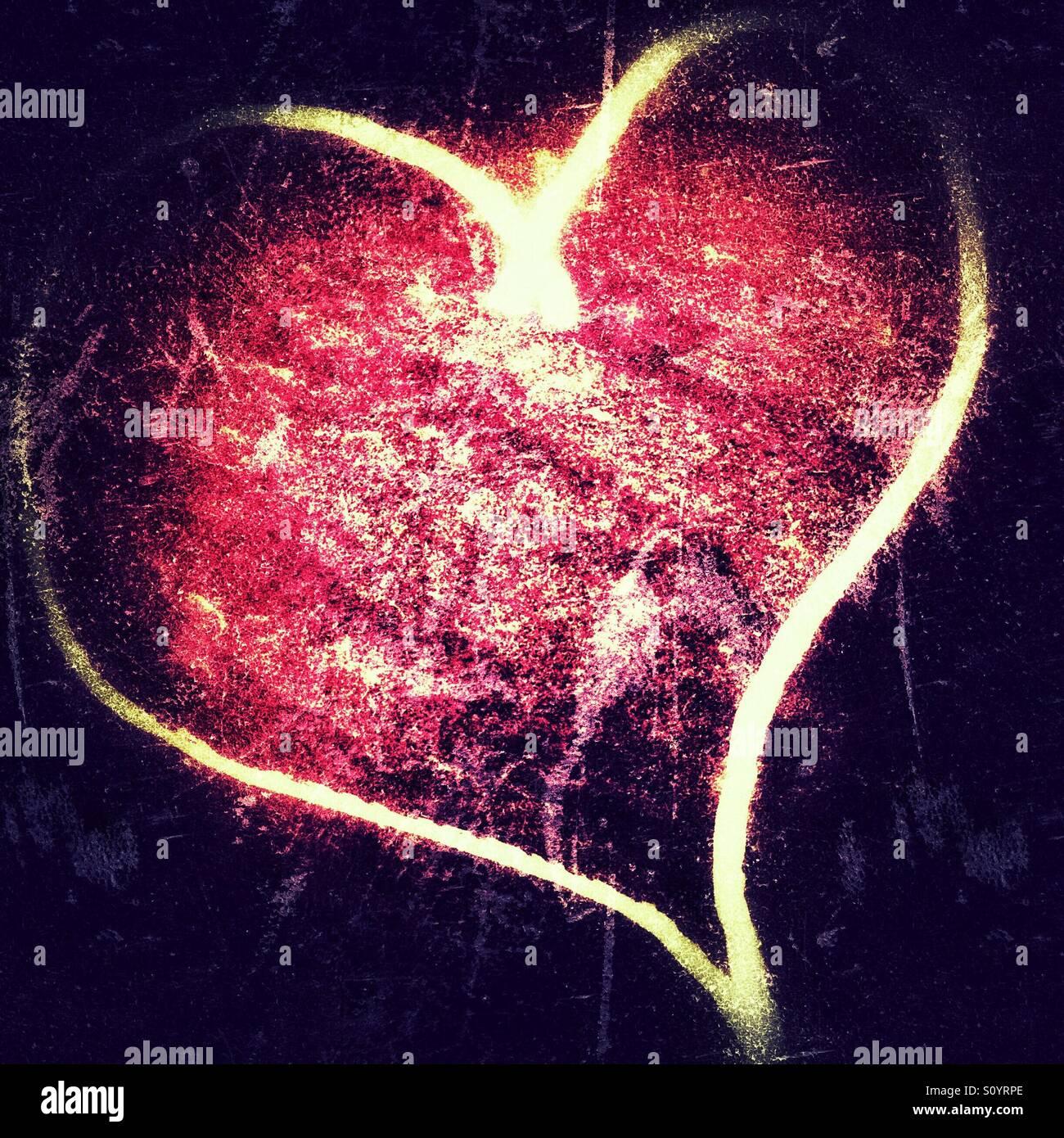 Latido del corazón Imagen De Stock