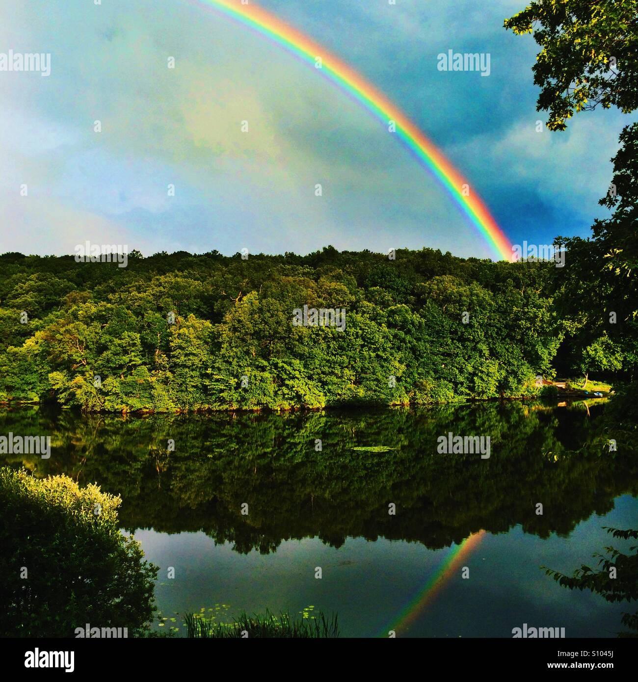 Arco iris Imagen De Stock