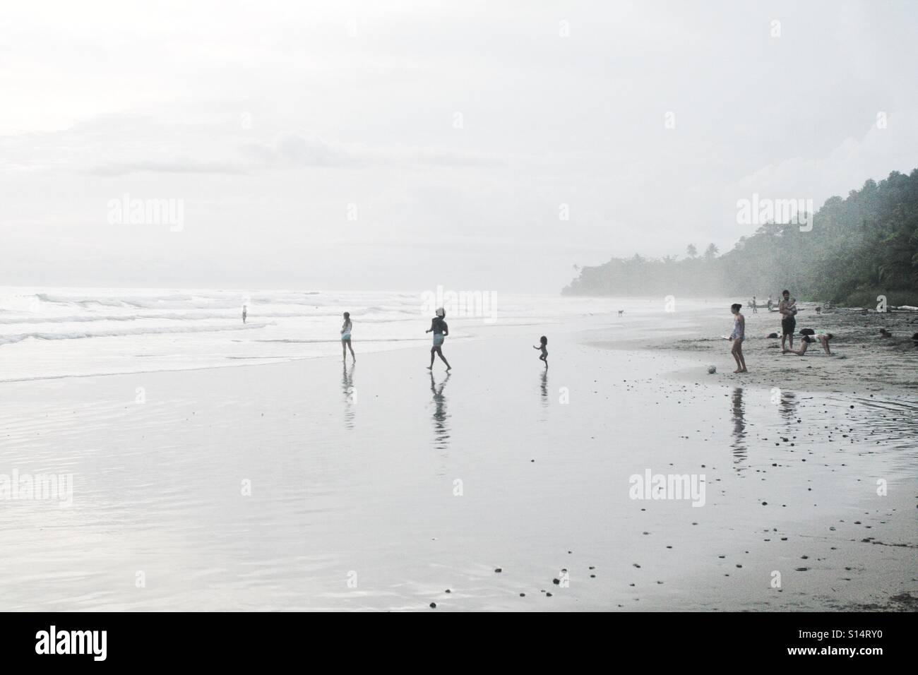 Juego de mar Foto de stock