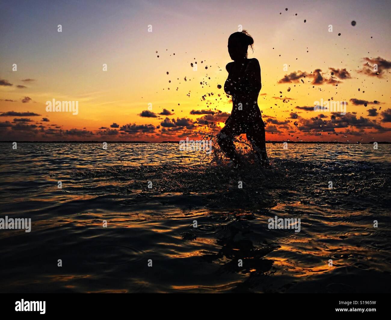 Océano Foto de stock