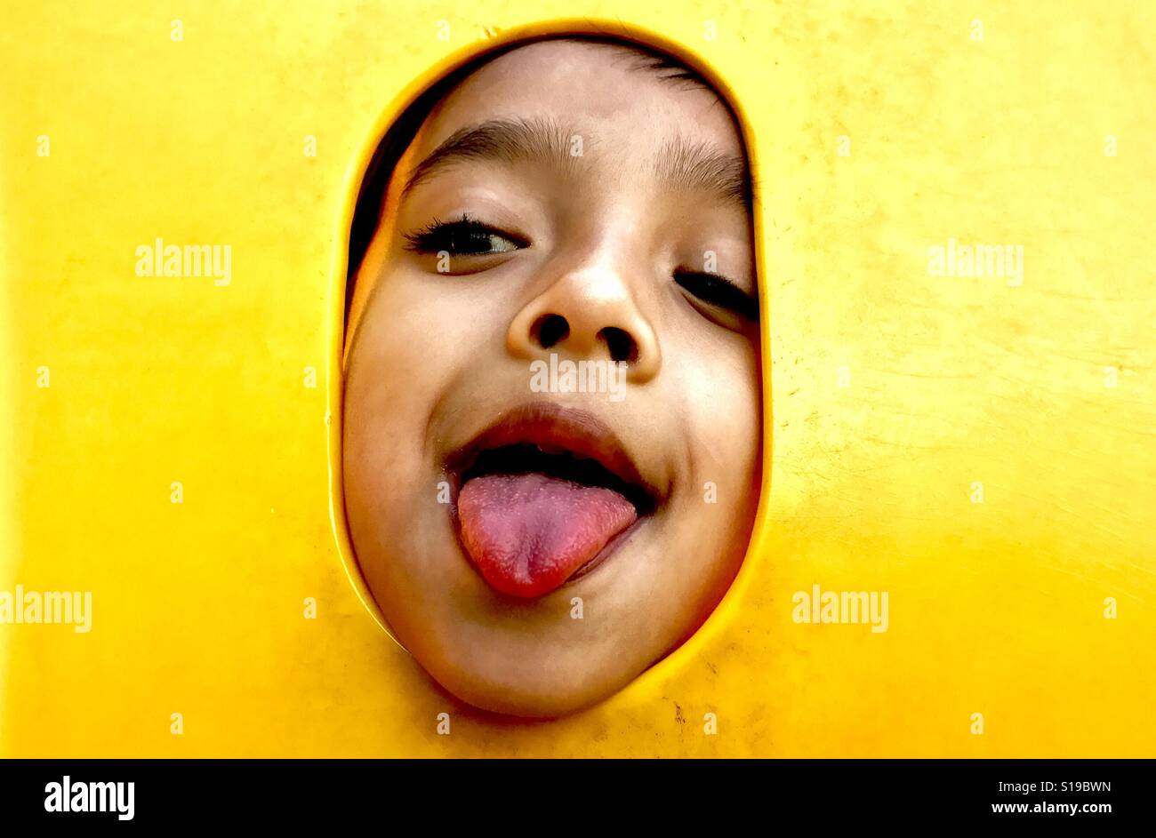 Muchacho feliz Foto de stock