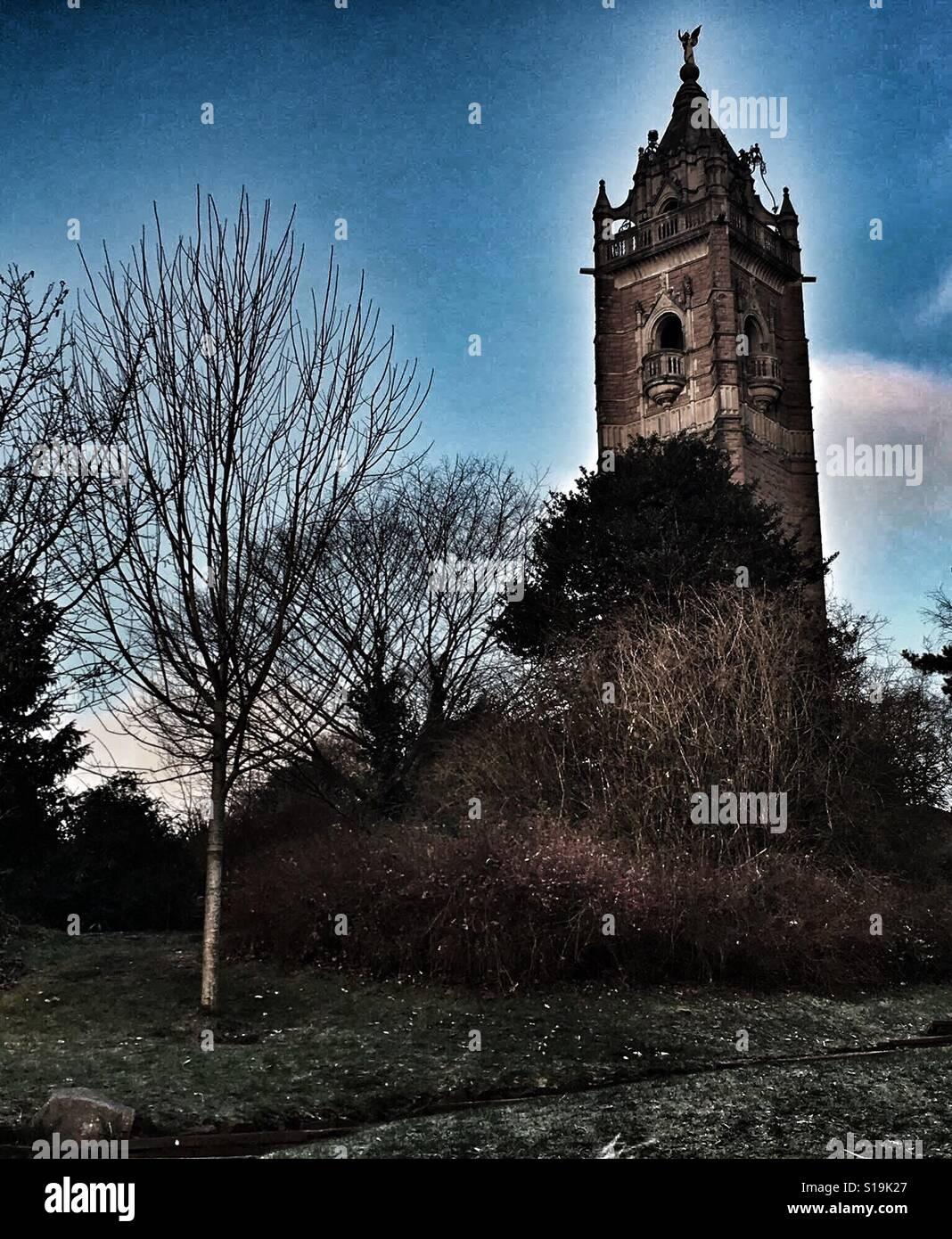 Torre de Cabot en Bristol Foto de stock