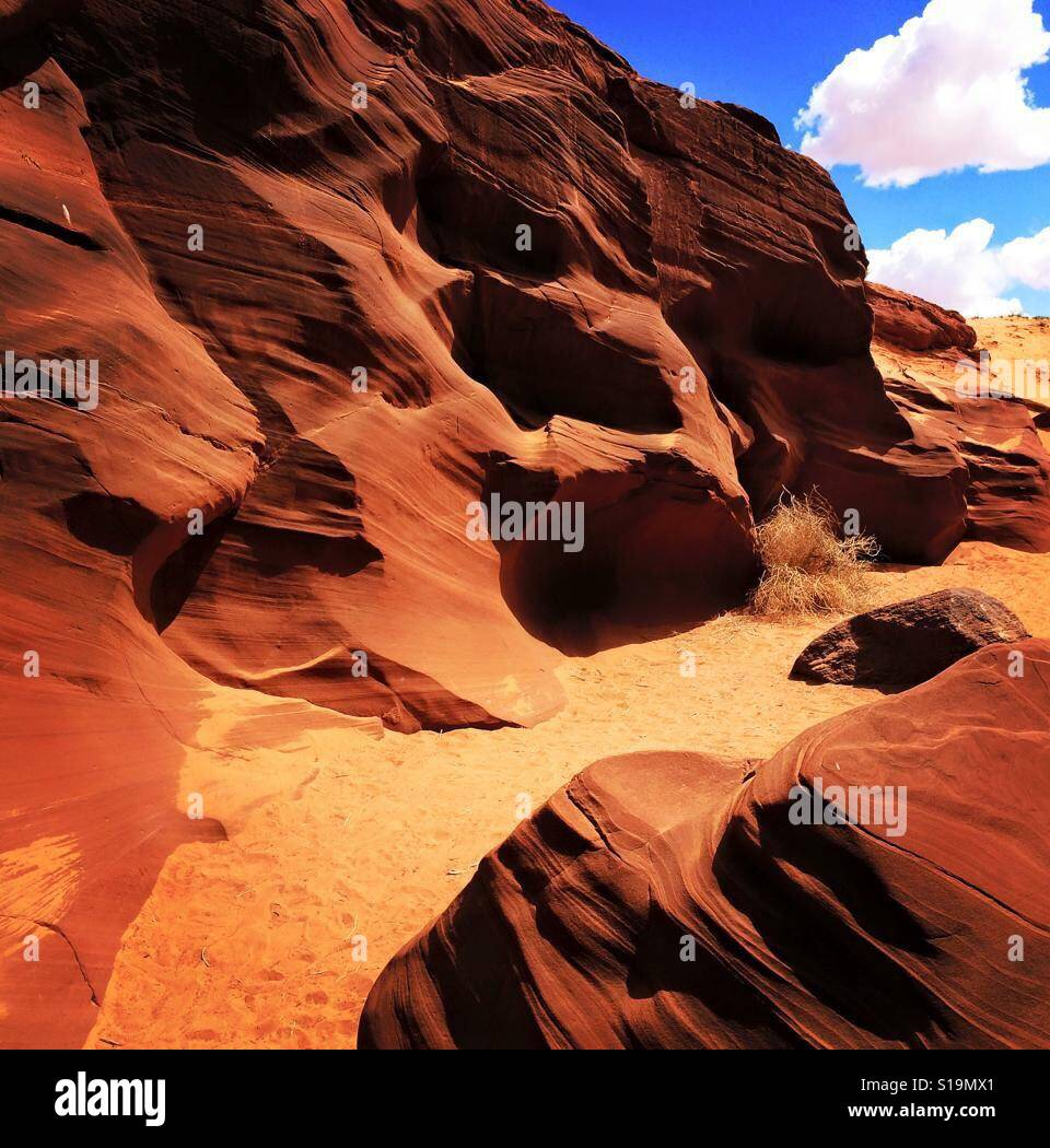Antelope Canyon Foto de stock