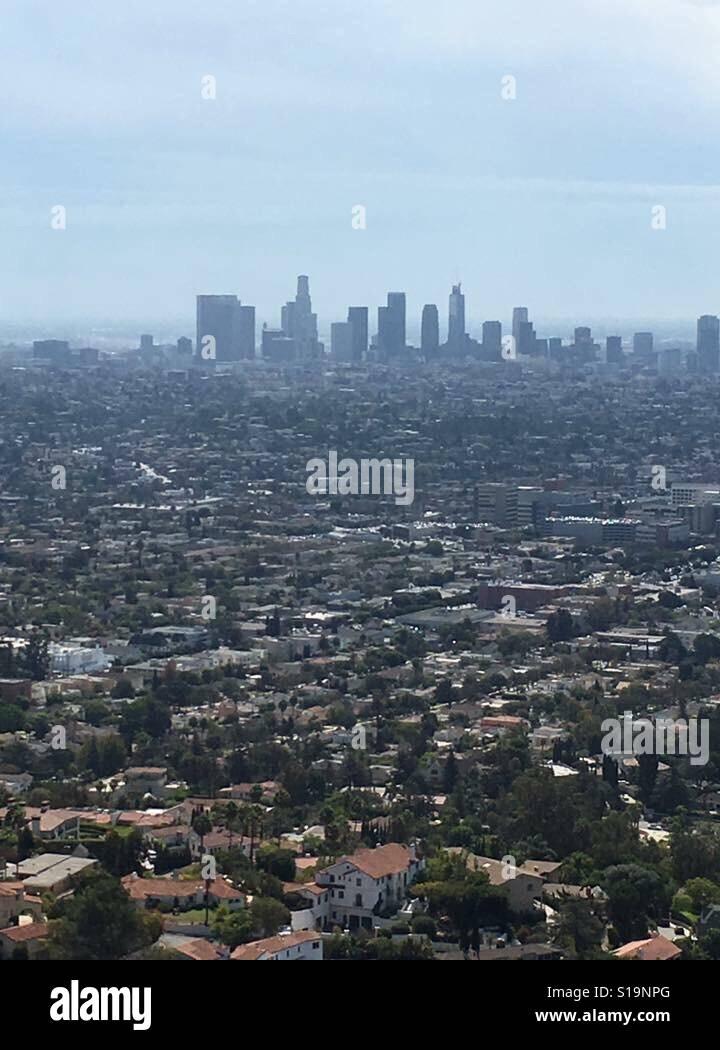 Ciudad de Los Angeles Foto de stock