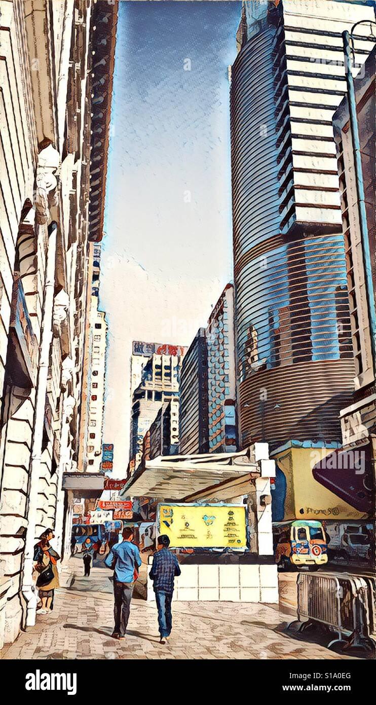 Edificio torre de estilo de vida de Singapur Foto de stock