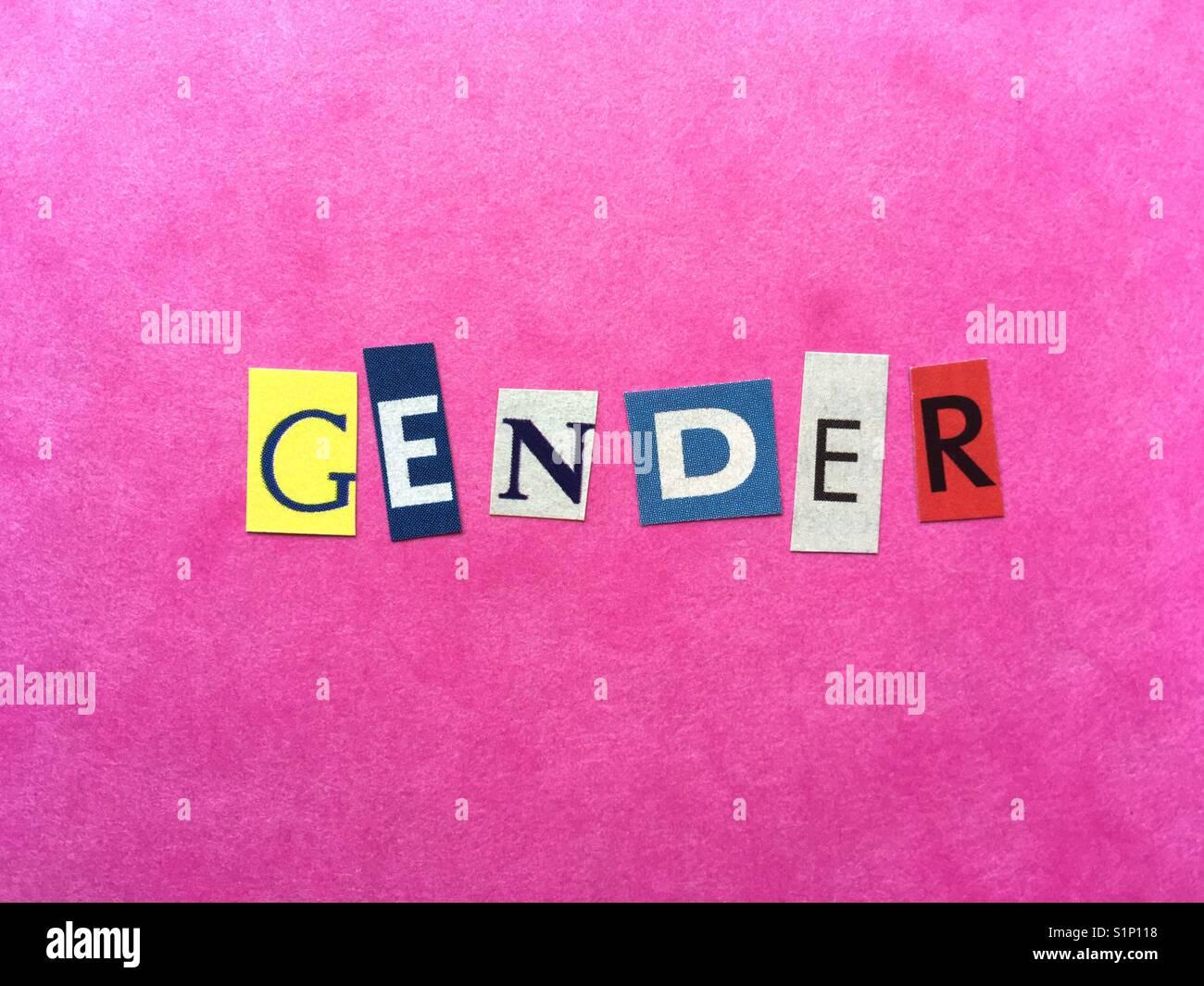 Género Imagen De Stock