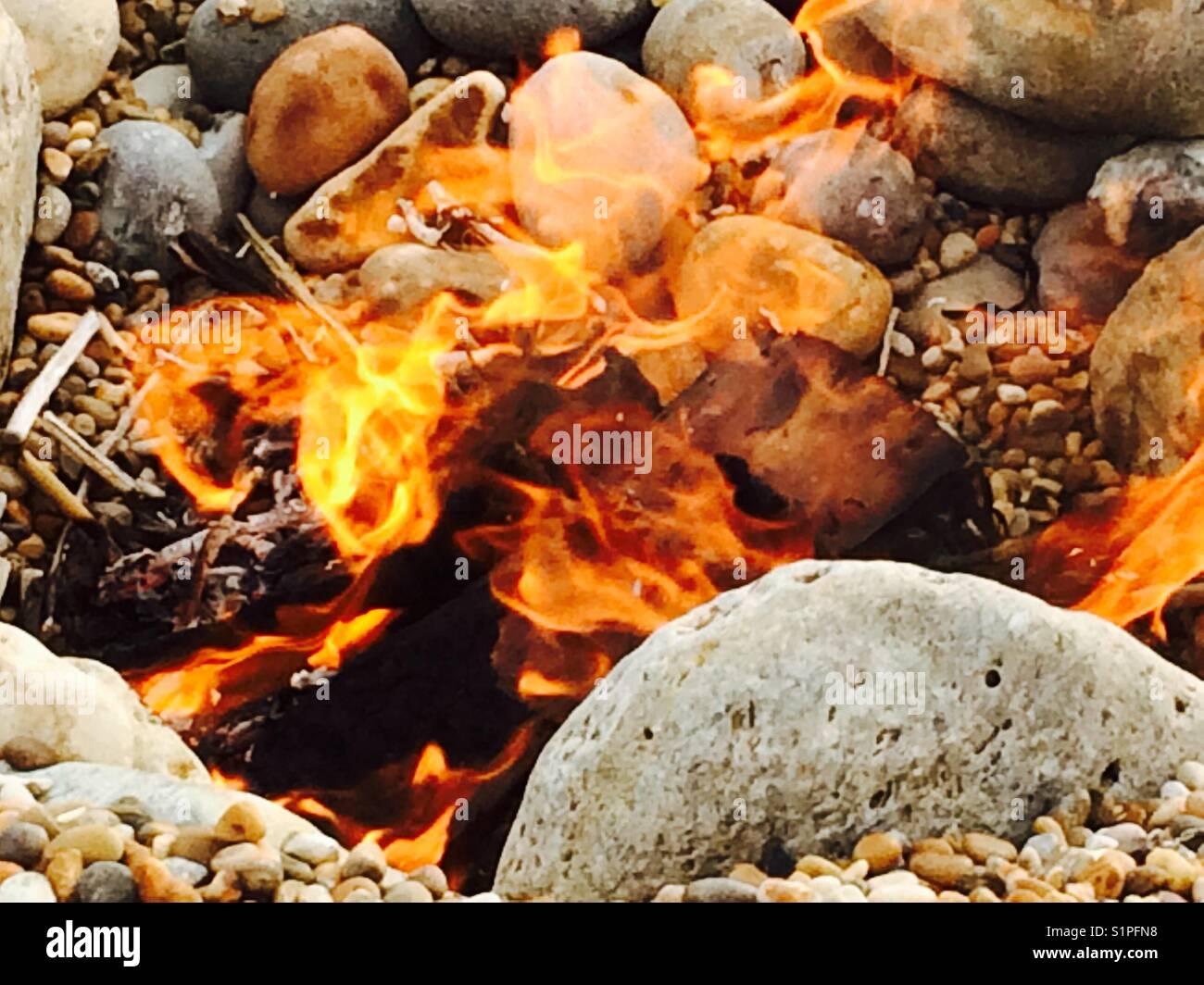 etnico L/ámpara de sal de gema para hoguera de fuego con certificado de garant/ía