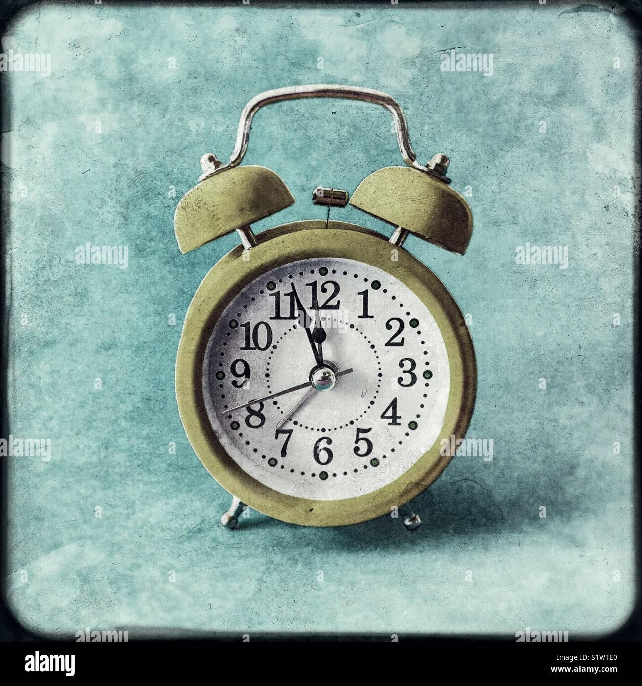 Reloj Despertador retro Imagen De Stock