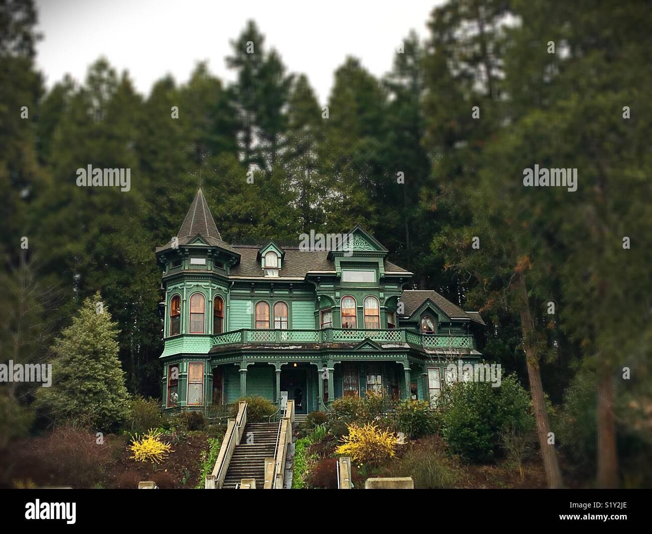Shelton McMurphy Johnson Casa en Eugene, Oregon, USA. Imagen De Stock