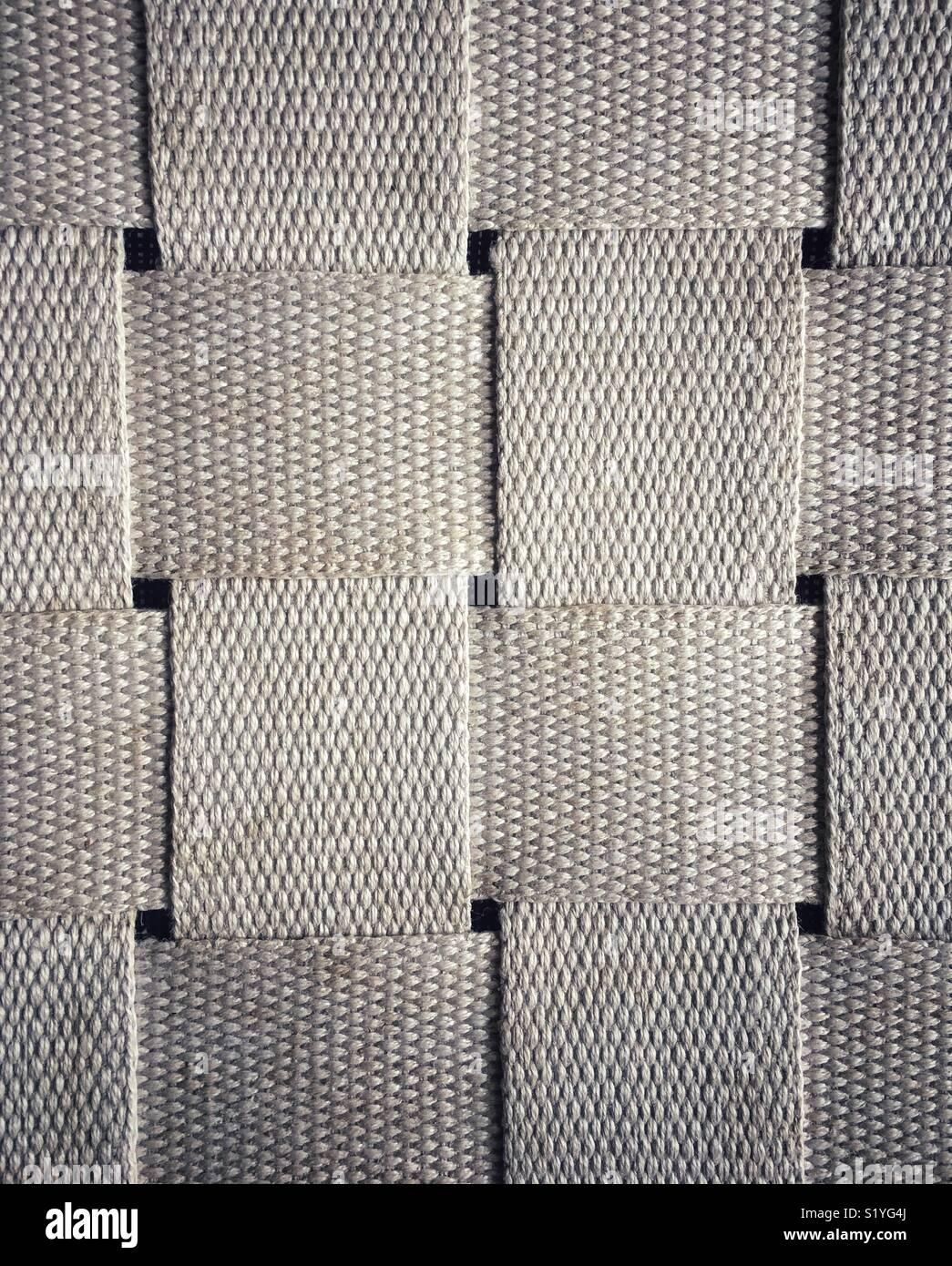 Patrón de tejido cuadrado entrelazado Imagen De Stock