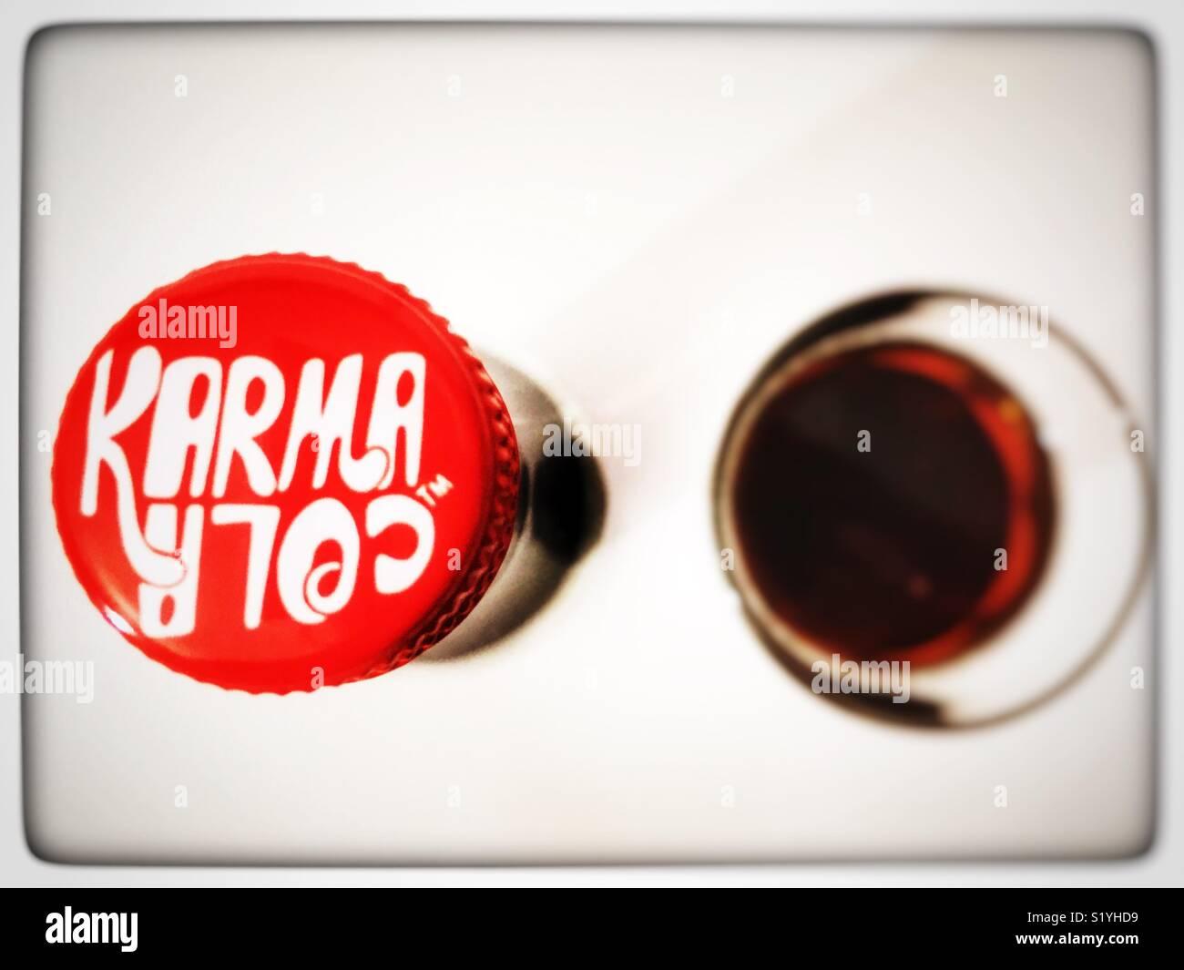 Karma Cola Imagen De Stock